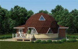 Экономный дачный дом